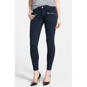 Paige Denim Women's Jane Zip Skinny Jeans in Azure